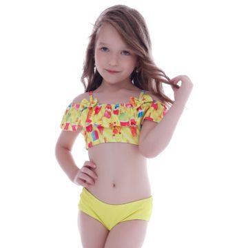 biquini-infantil-babadinhos-ombros-amarelo-sorvetes-frente