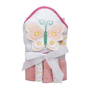 kit-toalha-bebe-e-3-toalhinhas-borboleta-rosa-camesa