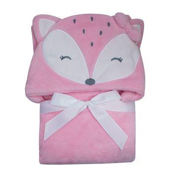 manta-para-bebes-com-capuz-raposa-rosa-microfibra