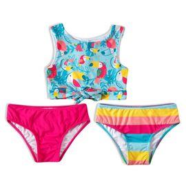 biquini-infantil-top-e-duas-calcinhas-rosa-tucanos-tip-top-frente