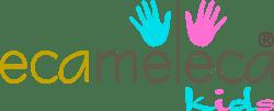 Logo da EcaMeleca loja infantil online para comprar roupinhas de bebê